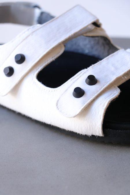 Roam Velcro Sandals - White