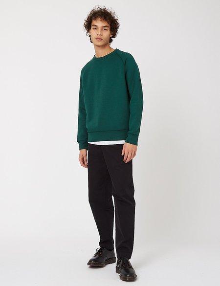Bhode Besuto Raglan Sweatshirt - Forest Green