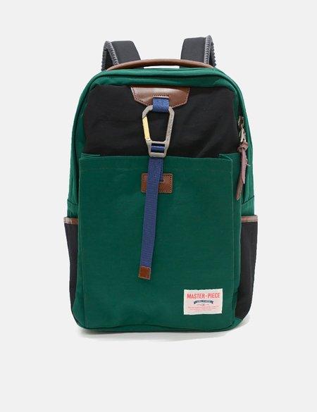Master-Piece Link Backpack - Green/Black