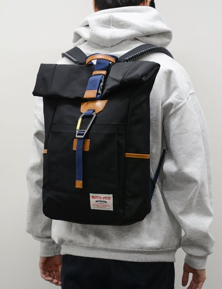 Master-Piece Link Roll Backpack - Black