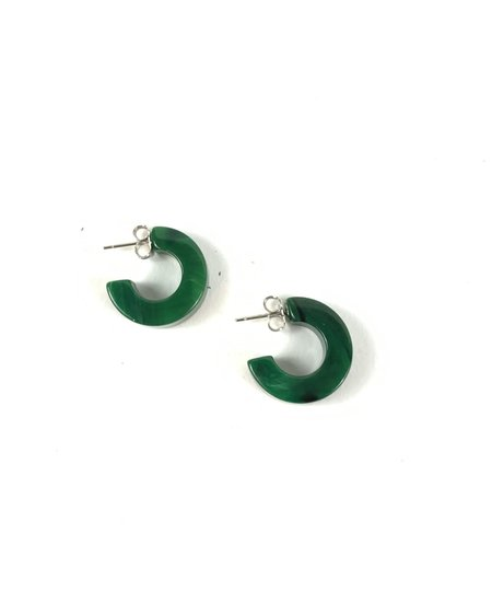Rachel Comey Cuba Earrings - Malachite