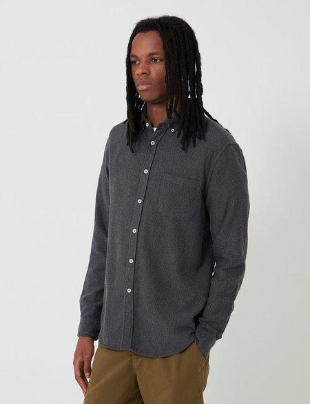 Bhode Classic Button Down Shirt - Charcoal Grey