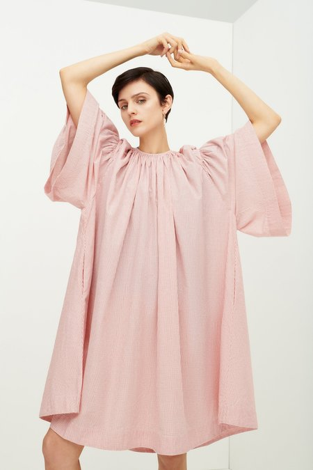Kowtow Mabel Dress - Red Check