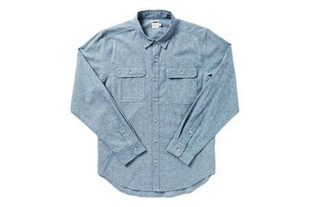 Bridge & Burn Eugene Shirt - Blue Chambray