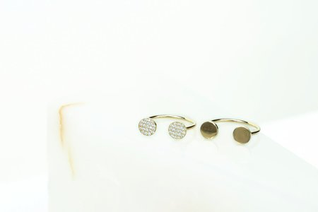 Carrie Hoffman Double Disc Ring