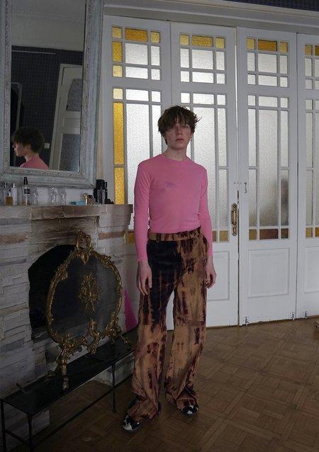 Anton Belinskiy Moth Tie Dye Corduroy Trousers
