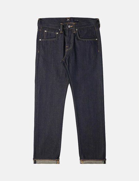 Edwin ED-55 Regular Tapered 63 Rainbow Selvage, 12.8oz Jean - Blue Unwashed