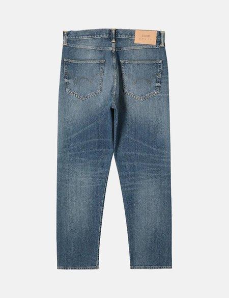 Edwin ED-80 Slim Tapered Yoshiko Left Hand Denim Jeans - Blue Ariki Wash