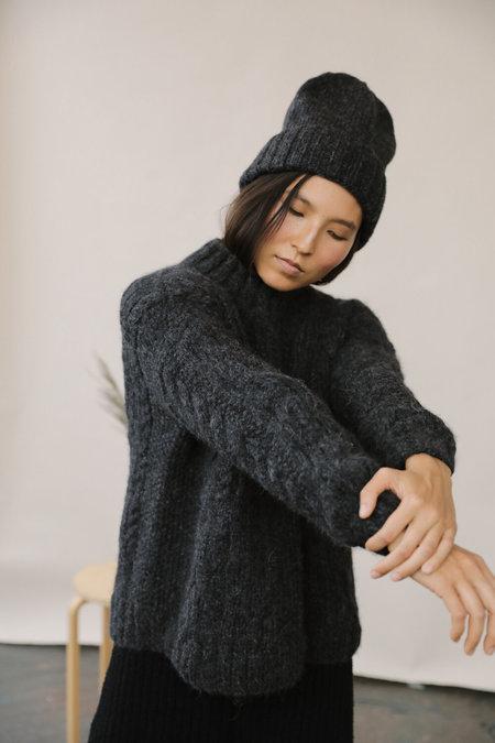 Kordal Finn Sweater - Charcoal