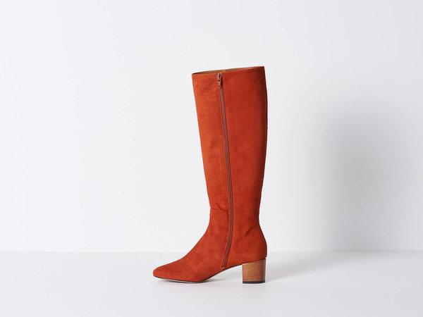 Vanessa Bruno Rust Suede Boot