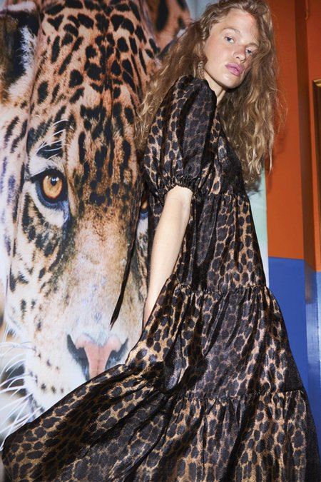 CRĀS Lili Dress - Wild Leo