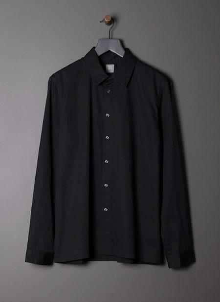 Grei. L/s Box Shirt - Ink