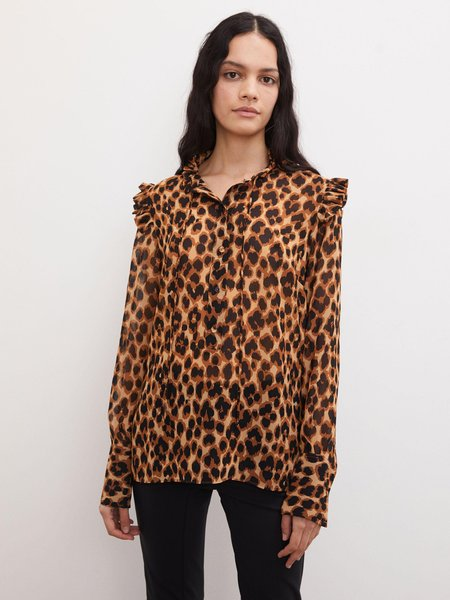 By Malene Birger WILLOW BLOUSE - leopard