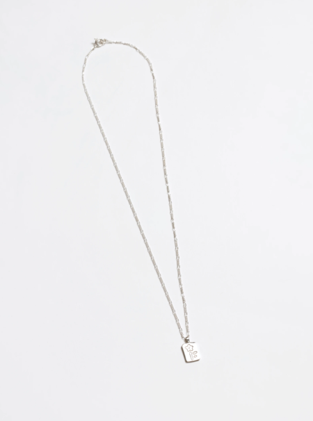 Wolf Circus Meadow Necklace - Silver