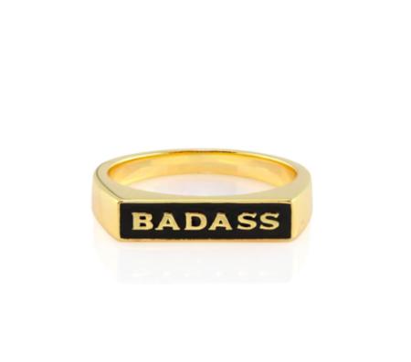 Kris Nations Badass Ring - 18K Gold Vermeil