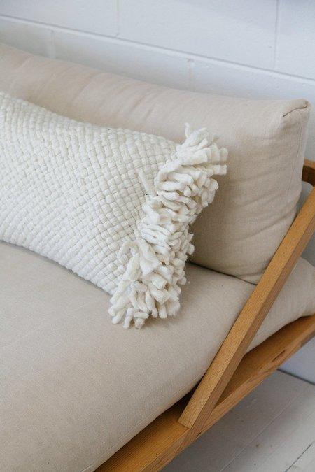 Pampa Monte Lumbar Cushion #8 - Natural