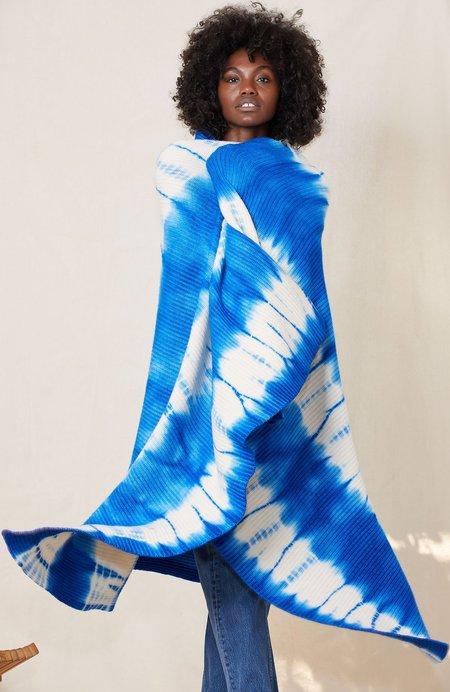 RON HERMAN Cashmere Blanket/Throw - Tie-Dye