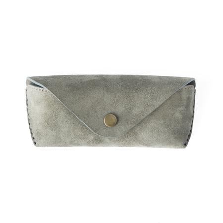 UNISEX MAKR Eyewear Case - Stone Horween