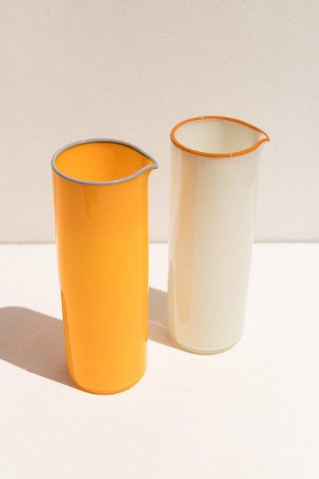 Drew Spangenberg Thumb Print Jug - Cream
