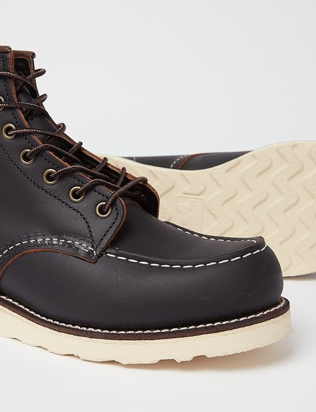 Red Wing Shoes Red Wing Heritage Work 6 Moc Toe Boot - Black