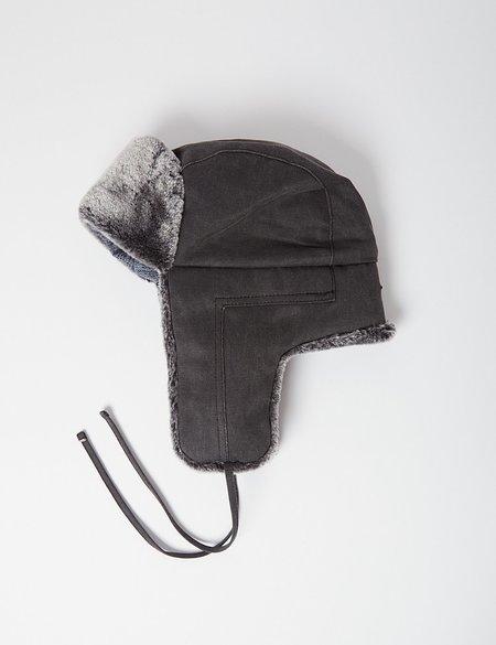 Stetson Old Cotton Aviator Hat - Grey