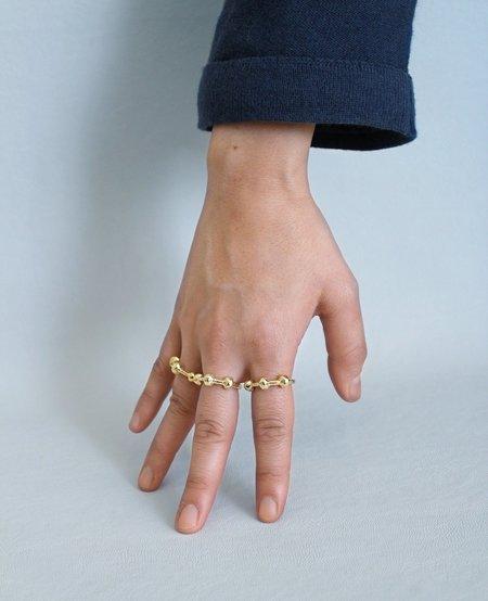 Ora-C KNOTTI golden ring