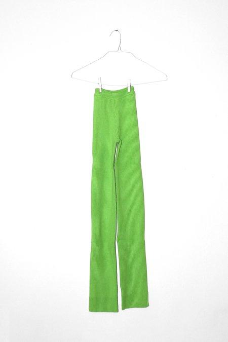 Giu Giu Nonna X-long Pants - Celery