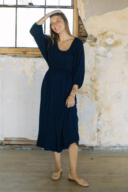 Rachel Pally Yaritza Pucker Rayon Dress - Eclipse