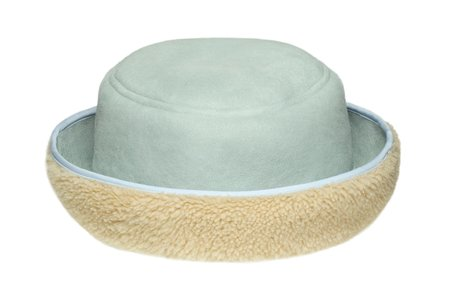 Clyde Reversible Shearling Bucket Hat - Ice Blue/Cream Curl