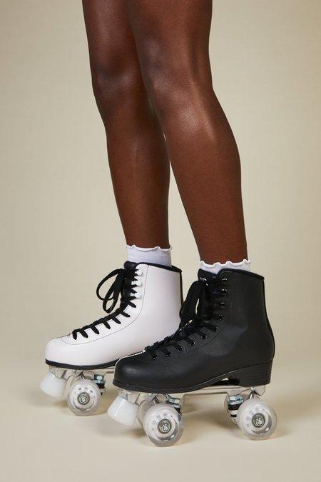 """""""INTENTIONALLY __________."""" PARTNER SKATE shoes - Black/White"""