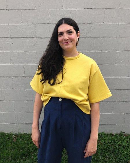Toit Volant Kyoto Boxy T-Shirt - Yellow