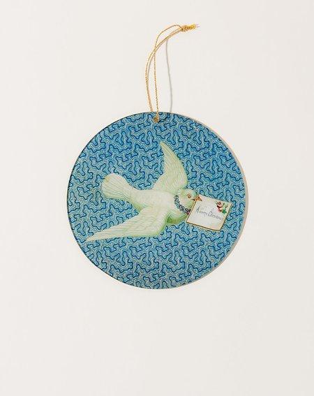 John Derian Christmas Note Ornament
