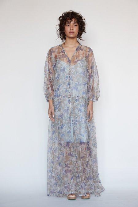Christine Alcalay Teresa Silk Organza Dress - Stoneflower
