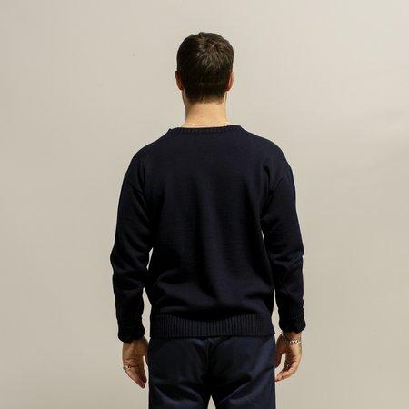 Andersen-Andersen Seaman sweater - NAVY BLUE