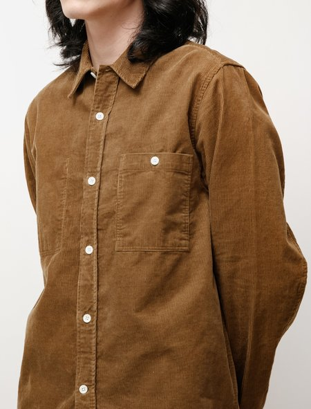 Norse Projects Arnold Corduroy Overshirt - Duffle