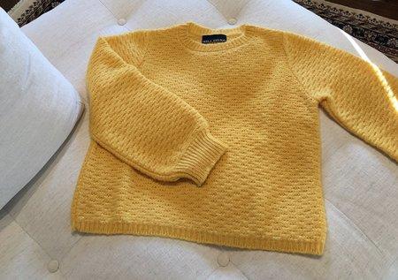 Mila Zovko Carolyn Sweater - Lemon