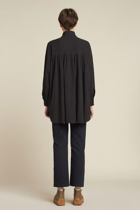 Kloke Smock Shirt - Black