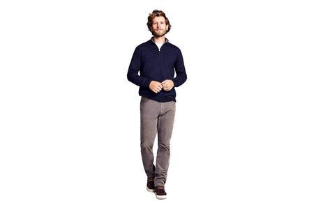 Faherty Brand Stretch Corduroy Five Pocket Pant - Rugged Grey