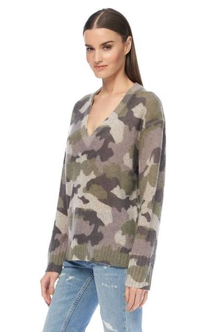 360 Cashmere Emerie Sweater - Camo