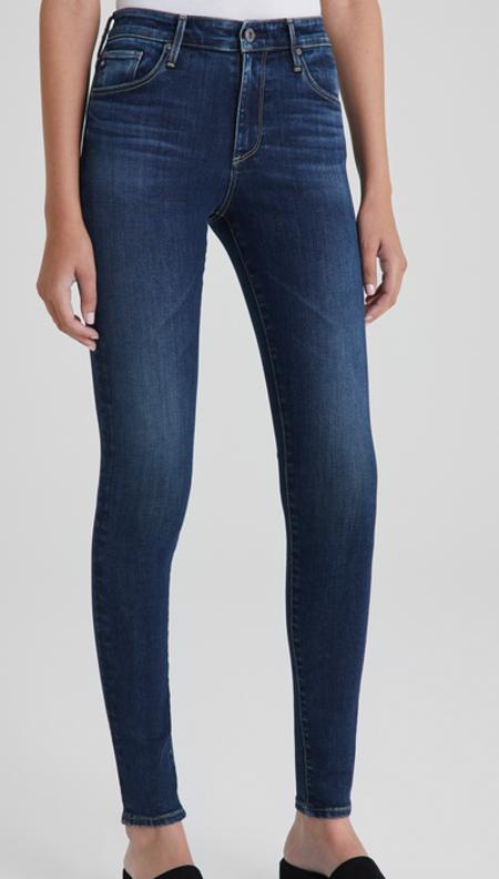 AG Jeans Farrah High Rise Skinny - Submerged