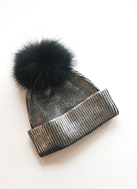 Equation Ali Pom Hat - Silver Foil