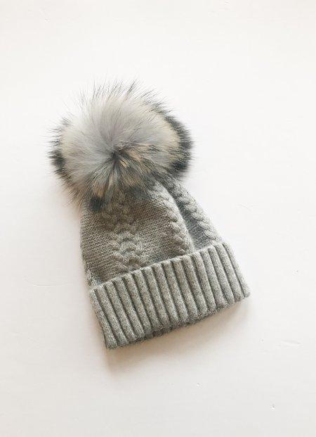 Equation Olivia Hat with pom - gray