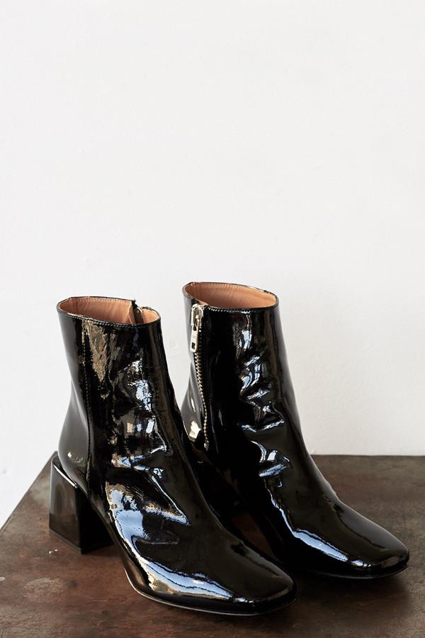 Patent Leather Lazaro Boot