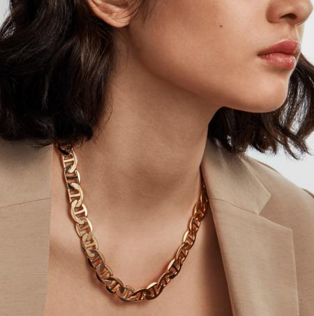 Jenny Bird Drew Chain Necklace - 14K Gold/Brass