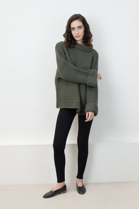 Micaela Greg Parallel Pullover -Olive