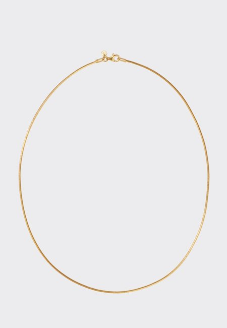 Meadowlark Snake Chain Necklace - Gold
