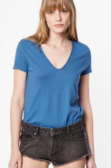 Zadig & Voltaire Story Fishnet Tee - Blue