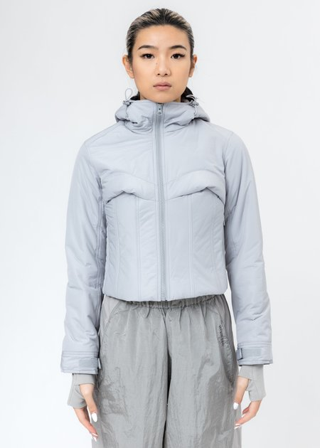 Hyein Seo Quill Padded Jacket - Light Grey