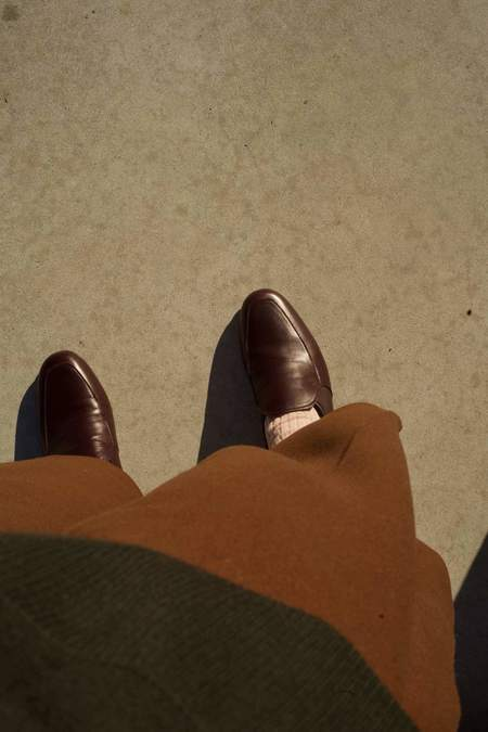 Anne Thomas Leo Loafers - Bordeaux