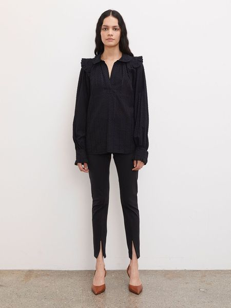 By Malene Birger Givotiala Top - Black